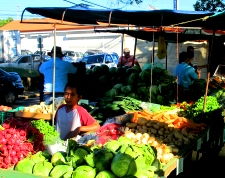 Retire in Costa Rica, Fresh Vegetable Market