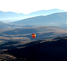 Retirement in South Africa, Balloon Safari