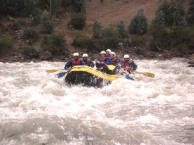 Retirement sports, rafting