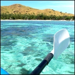 Retirement kayaking in Fiji