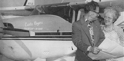 Beth and I flew the Curtis Rogers, a Cessna 206, to Belem, Brazil for the<br /> Wycliffe mission in 1973.