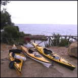 Retirement kayaking in Italy