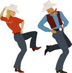 Line Dancing during retirement